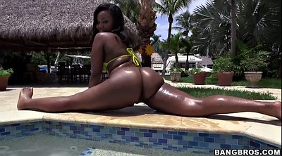 Oil, Bbw ebony