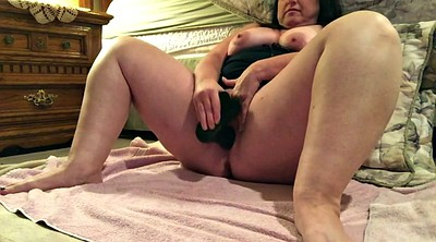 Huge tits, My wife, Big dildo, Ride dildo