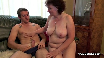 Hairy mom, Step son, Condom, Son fuck mom, Mom & son, Son mom