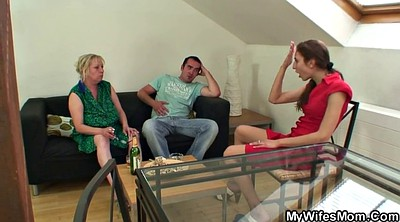 Mother, Young wife, Seduce mother, Mother seduced