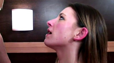 First anal, Amateur casting