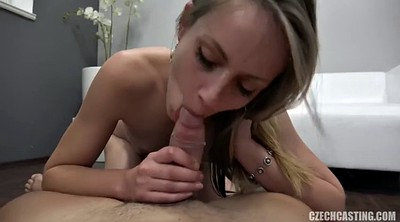 Czech casting, Blonde small tits