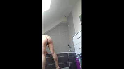 Preggo, Voyeur shower, Pregnant big, Pregnant wife, Big wife
