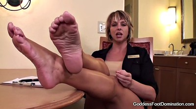 Foot job, Interview