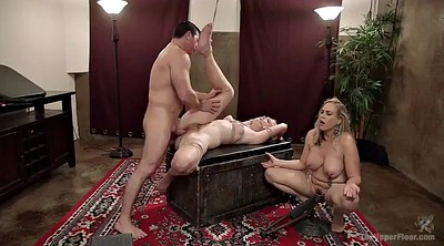 Train, Milf threesome, Anal threesome, Mother anal