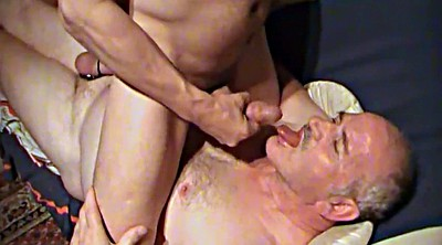 Daddy, Granny handjob, Amateur interracial