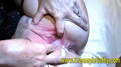 Compilation, Gangbang creampie