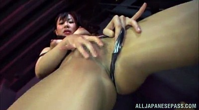 Asian solo, Pantyhose masturbation, Solo orgasm, Asian model, Asian pantyhose
