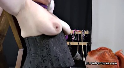 Mother and daughter, Step, Lady, Granny bdsm, Dominant