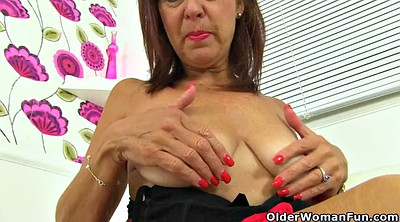 English, Granny nylon, British mature, Mature nylon