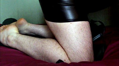 Boots, Thigh boots, Thigh, Rubber