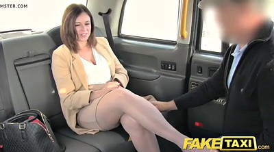 Office, Taxi, Fake tits, Revenge, Fake taxi