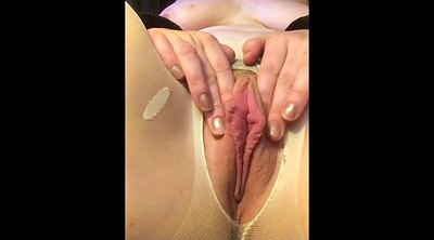 Labia, Meaty pussy, Pussy pantyhose, Pantyhose pussy, Pussy lips, Lip