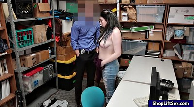 Police, Shoplifter, Hairy pussy fuck