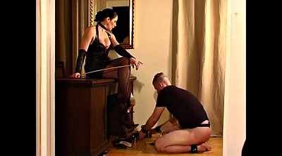 Caning, Latex mistress, Femdom spanking, Caned
