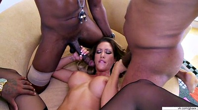 Double, Interracial gangbang