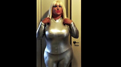 Silver, Catsuit