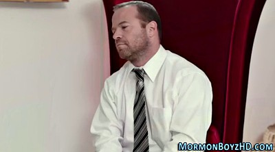 Uniform, Gay spank, Mormon, Spanked gay