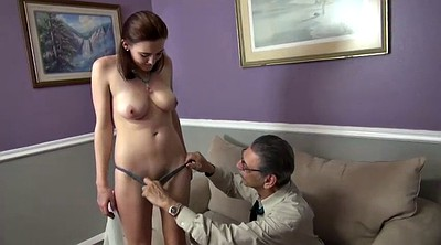 Grandpa, Young creampie, Tight pussy, Old creampie