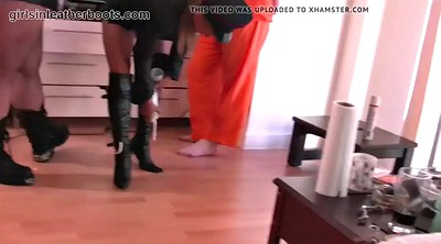 Latex, Leather, Lick boots, Boots, Cleaning