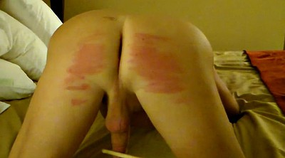 Caning, Gay spank, Wife ass, Caned, Humiliating, Gay spanking