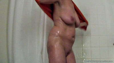 Shower voyeur, Saggy, Hidden cam, Hidden, Voyeur shower