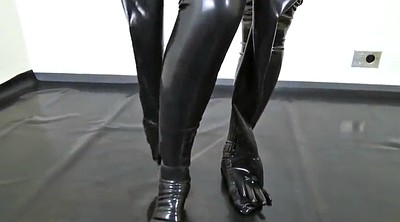 Asian black, Japanese black, Asian and black, Latex catsuit, Japanese and black, Japanese latex