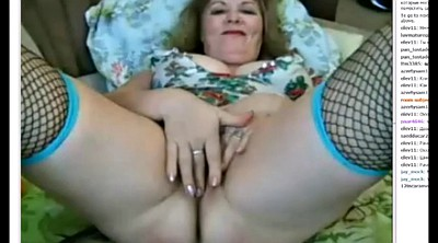 Masturbation, Mature webcam