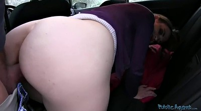 Car, Car sex, Cum public, Girl cum, Cum on ass