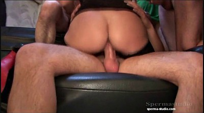 Gangbang, Extremely, German creampie