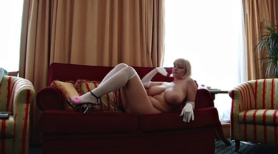 Stocking, Gloves, Glove, Mature in stockings