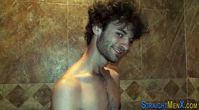 Shower, Hairy gay