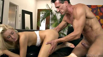 Orgasm, Mouth, Mouth fuck, Long cock, Silver