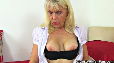 Nylon milf, Nylon granny, Lady, British mature