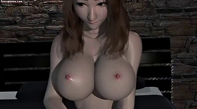 Busty, Animation