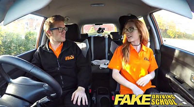 Teen solo, Fake, Surprise, Fake driving school