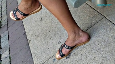 Foot, Mature feet, Candid