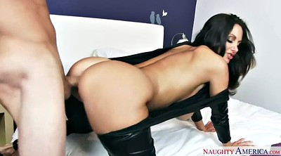 French, Ava addams, Milf leather, Addams
