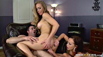 Nikki benz, Nicole aniston, Licking, Benz