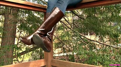 Boots, Leather, Boot, Shoeplay