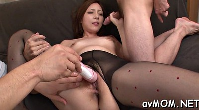 Three, Japanese three, Three japanese, Japanese mature blowjob