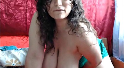 Huge tits masturbation, Huge boobs