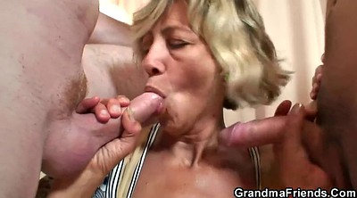 Old young, Wife threesome, Granny threesome