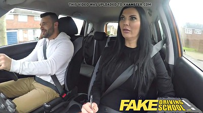 School, Fake tits, Fake driving school, Driving school, Driving