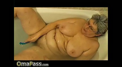 Mature, Granny solo, Shower solo