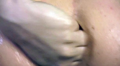 Oiled, Anal fisting