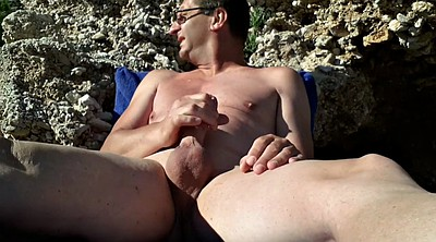 Beach, Gay hd, Public bdsm, Beach masturbation