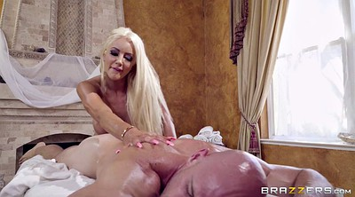 Oil massage, Nicolette shea, Johnny sins