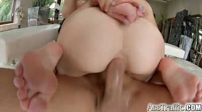 Teen ass, Huge anal