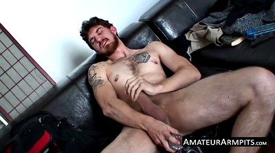 Armpit, Hairy solo, Ginger, Redhead hairy, Armpits, Gay amateur